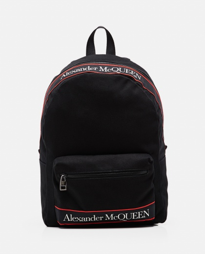 Metropolitan cotton canvas backpack  Men Alexander McQueen 000291160042866 1