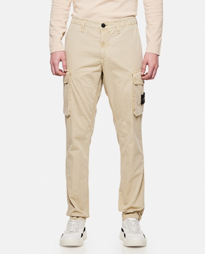 Used-effect cargo pants Men Stone Island 000292530043067 1