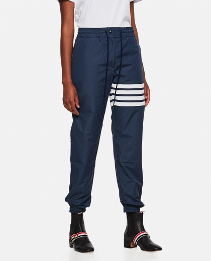 Sports trousers with stripes Women Thom Browne 000255160037683 1