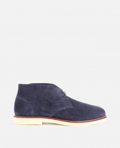 Suede ankle boots Men Hogan 000230190033963 1