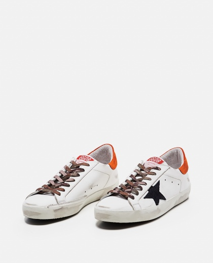 'Superstar' sneakers in leather and suede Men Golden Goose 000269270039693 2