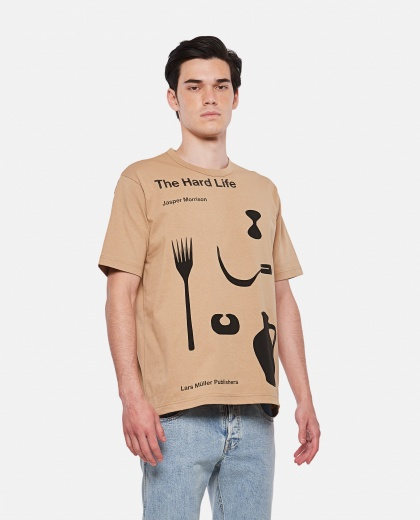 The Hard Life cotton t-shirt Men Junya Watanabe 000300790044197 1