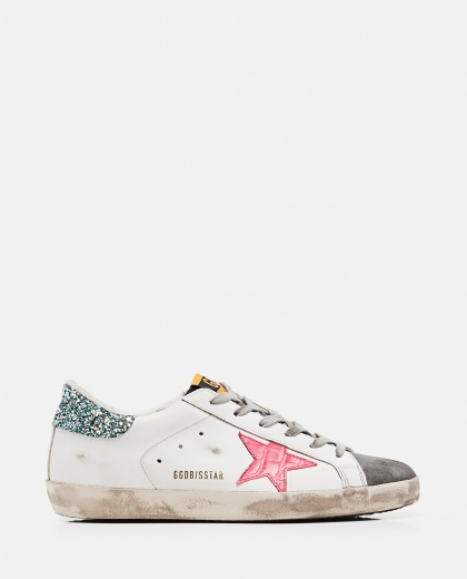 Sneakers Superstar classic  in pelle e camoscio Donna Golden Goose 000286840042308 1