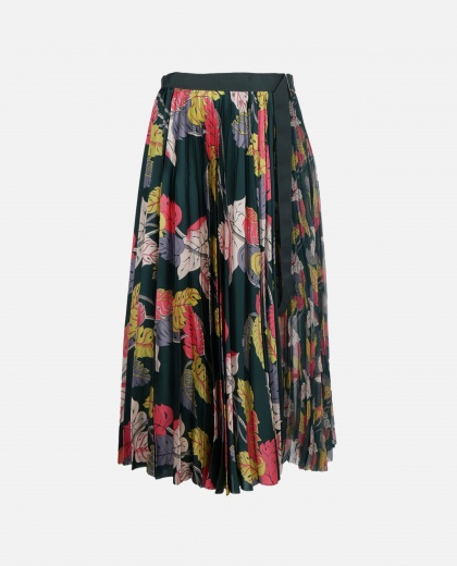 All-over flower printed Skirt
