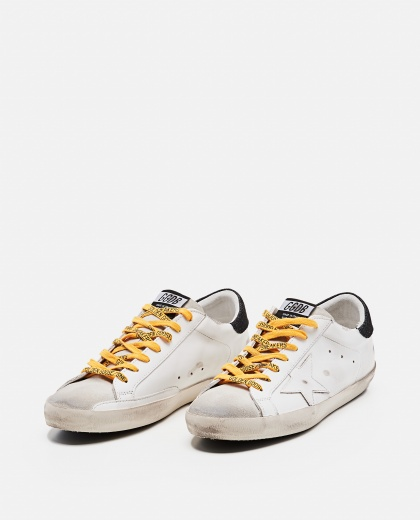 'Superstar' sneakers in leather and suede Men Golden Goose 000269260039692 2