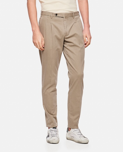 Long cotton trousers Men PT01 000236590034958 1