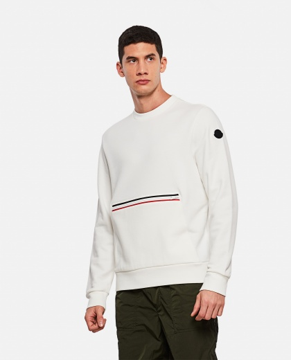 Sweatshirt with front pocket