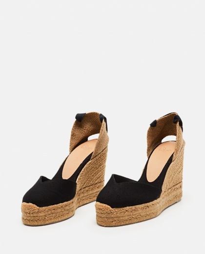 Chiara  canvas espadrille with wedge of 11cm  Women Castaner 000286090042219 2