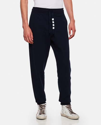 Sports trousers with drawstring Men Thom Browne 000253550037452 1