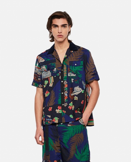 HANK WILLIS THOMAS x SACAI printed shirt Men Sacai 000301140044236 1