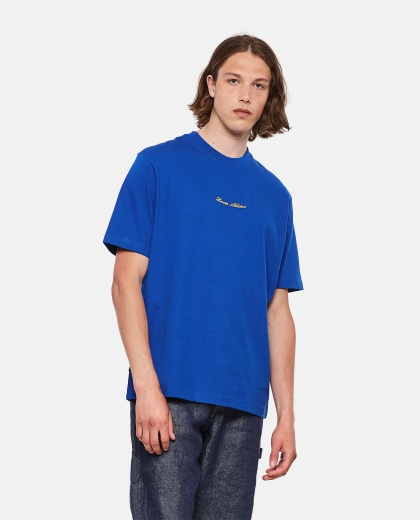 Lacoste Live Unisex loose fit cotton T-shirt with golden embroidery Men Lacoste 000297550043778 1