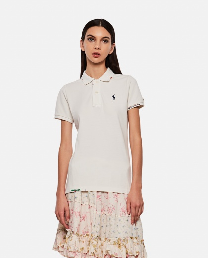 Polo shirt with contrasting stitching Women Ralph Lauren 000258010038124 1