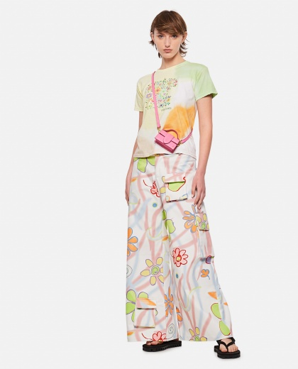 T-shirt tie and dye in cotone  Donna Collina Strada 000317750046561 2
