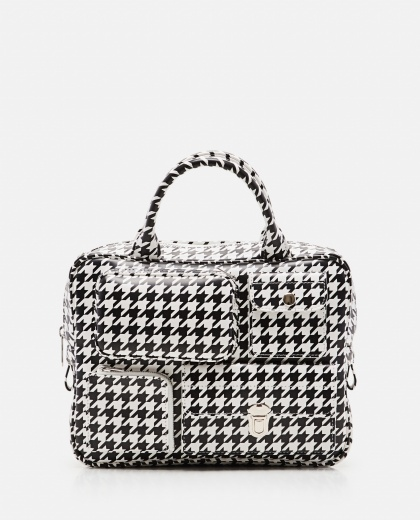 Small houndstooth bag