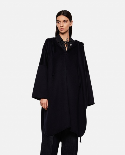 Cashmere oboe cape with hood Women Max Mara 000262470038833 1