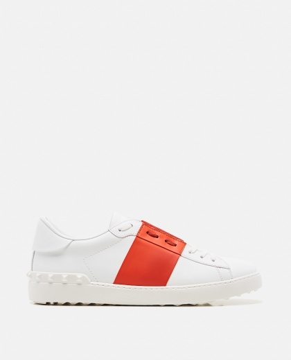 Valentino Garavani open leather sneaker