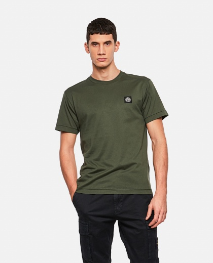 Cotton jersey T-shirt Men Stone Island 000270990039923 1