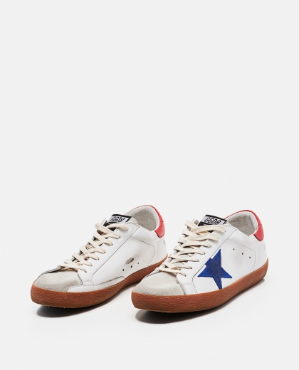 Superstar Golden Goose sneakers in leather and suede Men Golden Goose 000269210039687 2