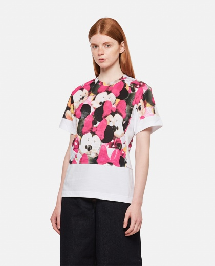T-shirt with eyes print Women Comme des Garcons 000316440046356 1