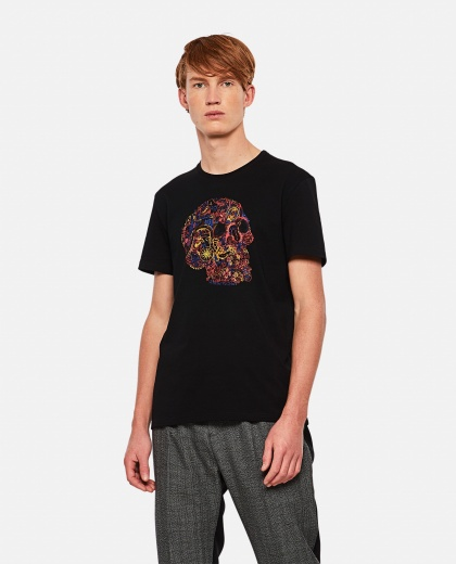 T-shirt with print Men Alexander McQueen 000290990042840 1