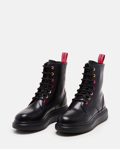 Lace-up ankle boots Women Alexander McQueen 000285070042024 2