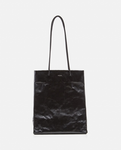 Tote bag with wrinkled effect Women Medea 000262590038851 1