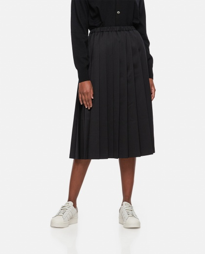 High-waisted midi skirt Women Junya Watanabe 000275480040584 1