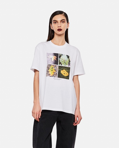 Faces in Places oversized T-shirt Women Stella McCartney 000290660042801 1