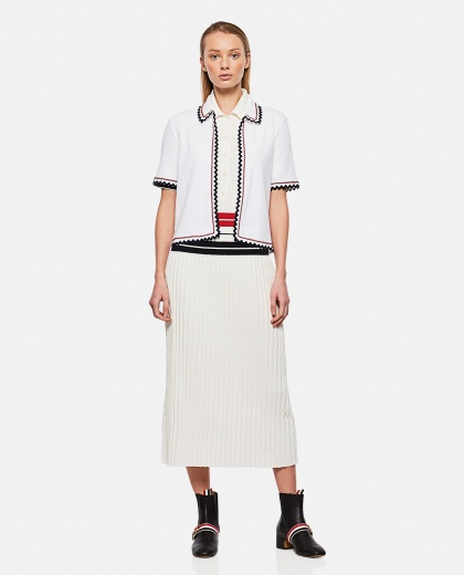 Top with worked hem Donna Thom Browne 000295630043466 2