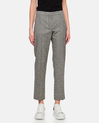 Prince of Wales trousers Women Alexander McQueen 000284930042008 1