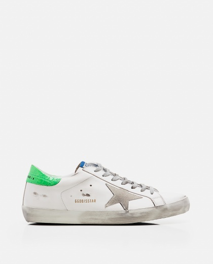 'Superstar' sneakers in leather and suede Men Golden Goose 000269240039690 1
