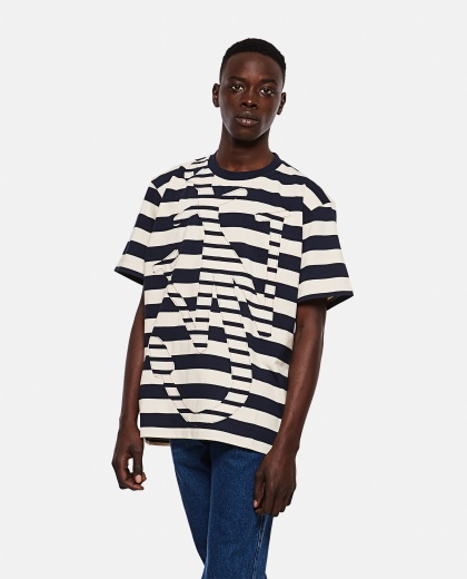 Striped Anchor T-Shirt Men J.W. Anderson 000293140043175 1
