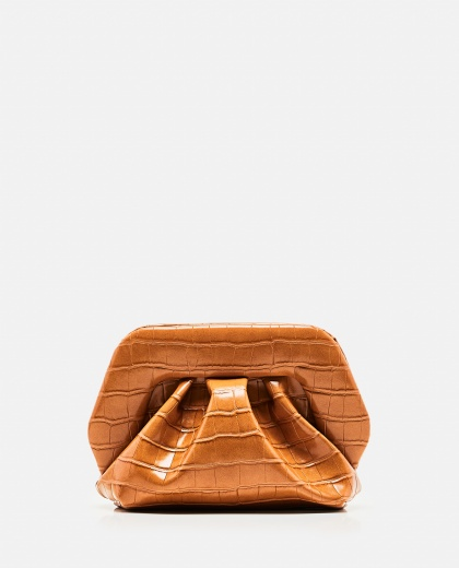 Eco-leather clutch
