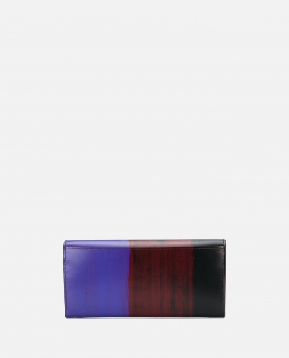 Wallet with brushed print Women PS Paul Smith 000233320034485 2