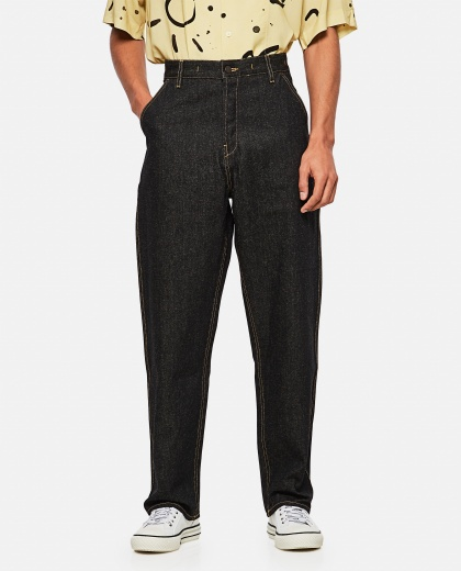 Le de Nîmes Denim Trousers Men Jacquemus 000294050043275 1