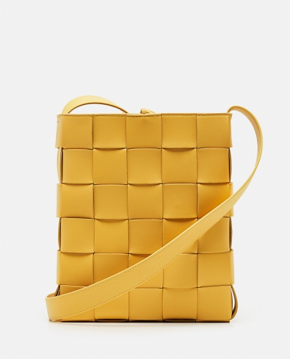 BORSA MESSENGER CASSETTE IN NAPPA INTRECCIATA Women Bottega Veneta 000285540042087 1