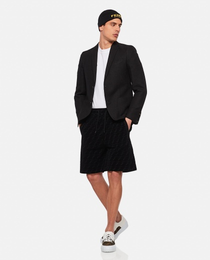 Pantalone in piquet  Uomo Fendi 000311270045644 2