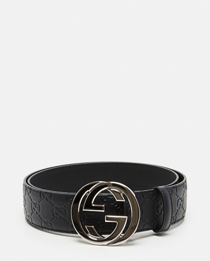Gucci Signature leather belt Men Gucci 000023110001316 1