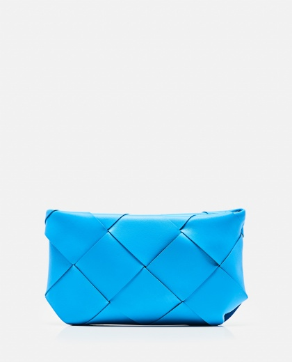 Clutch bag with zip