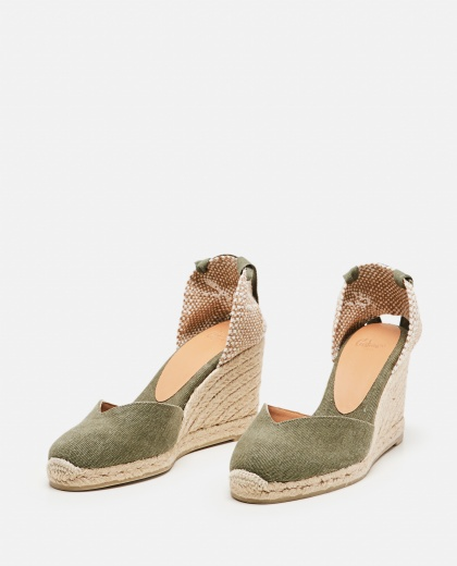 Chiara  canvas espadrille with wedge of 11cm  Women Castaner 000286110042221 2