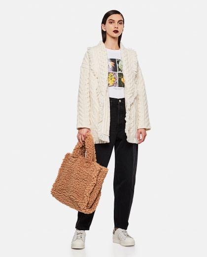 Faces in Places oversized T-shirt Women Stella McCartney 000290660042801 2