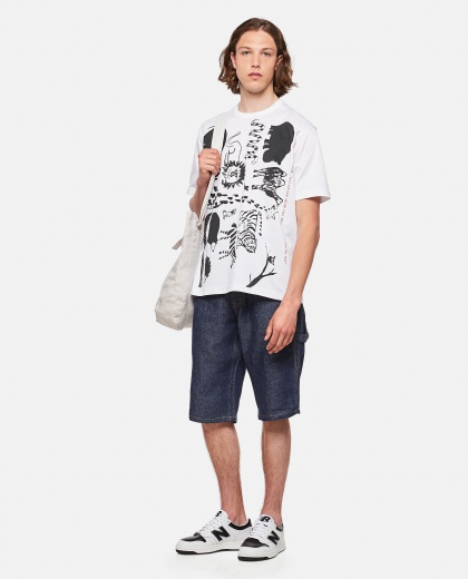 T-shirt with print Men Junya Watanabe 000300890044207 2