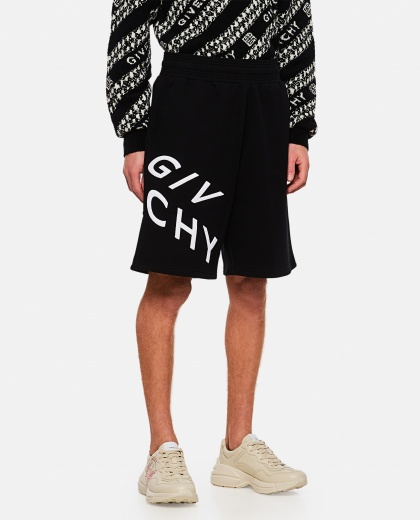 GIVENCHY Refracted embroidered short pants Men Givenchy 000253170037406 1