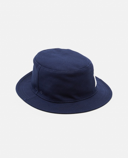 4-bar cotton bucket hat Men Thom Browne 000253500037445 1