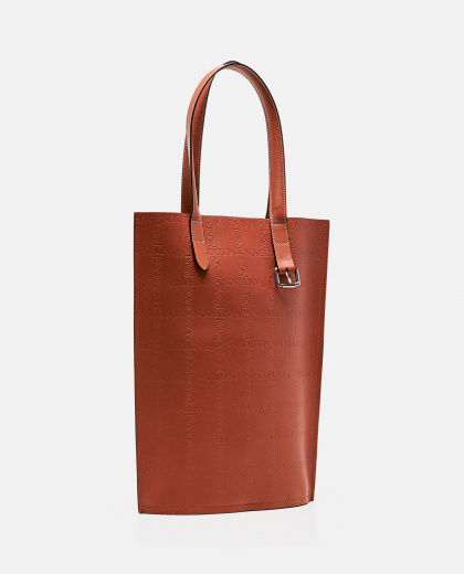 Tote bag with embossed logo Men J.W. Anderson 000293300043195 2