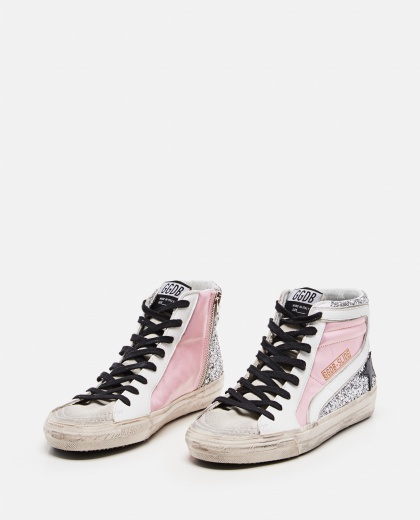 High Slide Glitter Sneaker Women Golden Goose 000286570042280 2