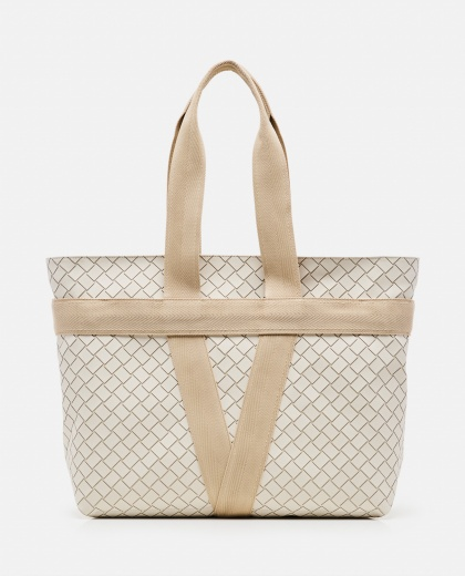 Woven rubber Tote bag  Men Bottega Veneta 000291510042933 1