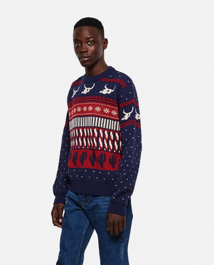 West X-Mas Eve Fairisle sweater Men Alanui 000295330043428 1