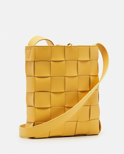 BORSA MESSENGER CASSETTE IN NAPPA INTRECCIATA Women Bottega Veneta 000285540042087 2