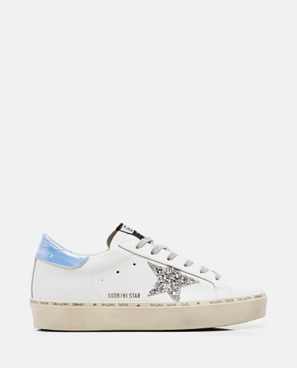 Sneaker Hi Star classic in pelle Donna Golden Goose 000256610042307 1